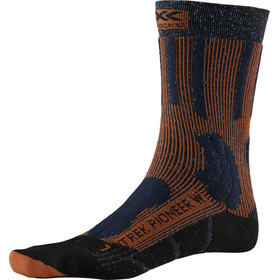 X-Socks Trek Pioneer Calcetines Mujer, midnight blue/crimson red